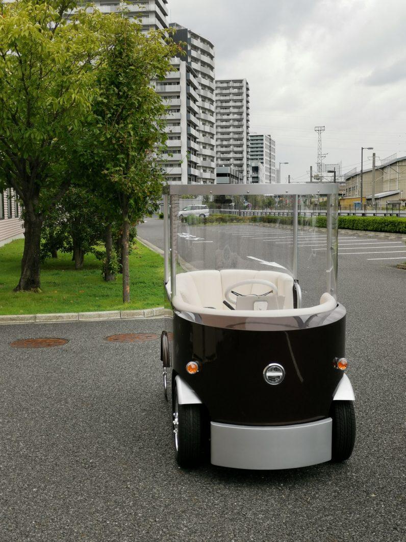 2019年東京モーターショーに「バトラーカー」で出展
